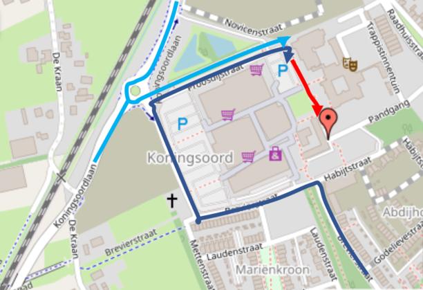 Routebeschrijving Berkel-Enschot